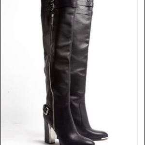 Micheal Kors Jayla High Over the knee Boots Sz 7.5